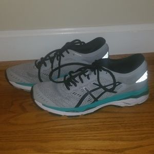 ASICS Dynamic Duomax gray running sneakers 7.5